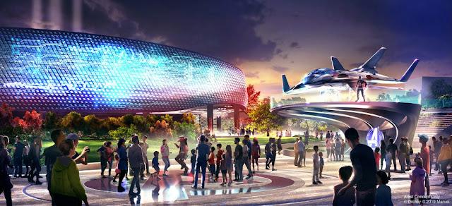 Avengers Campus Walt Disney Studios Concept Art