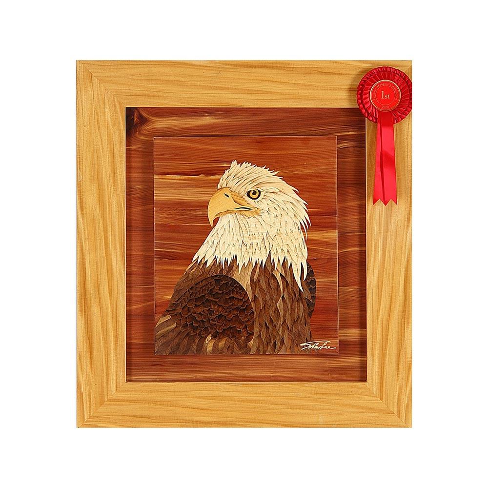 木箔®系列作品「鷹Eagle」榮獲英國Gladys Walker Cup(第一名)