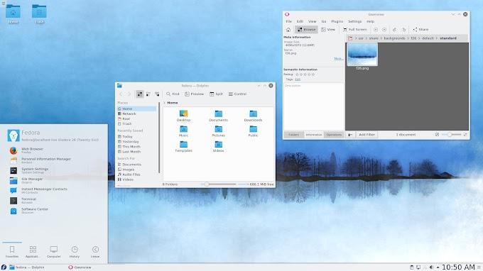 Fedora 31 - KDE Plasma Desktop Spin
