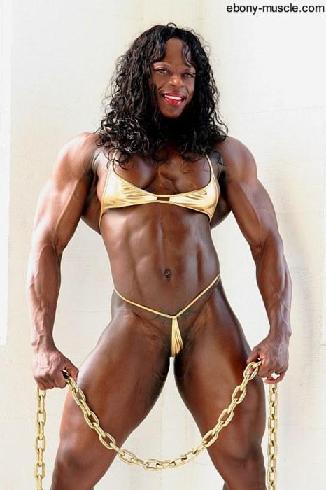 Ebony Muscle Porno 111