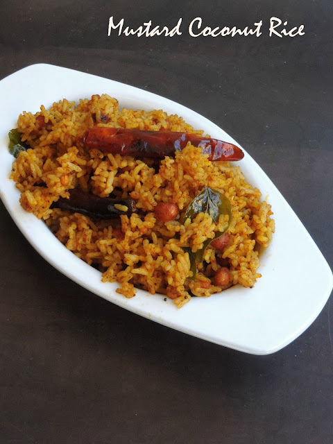 Mustard Coconut Rice