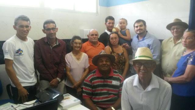Prefeito de Tabuleiro do Norte, Dr. Rildson, visitou a comunidade da Barra do Feijão