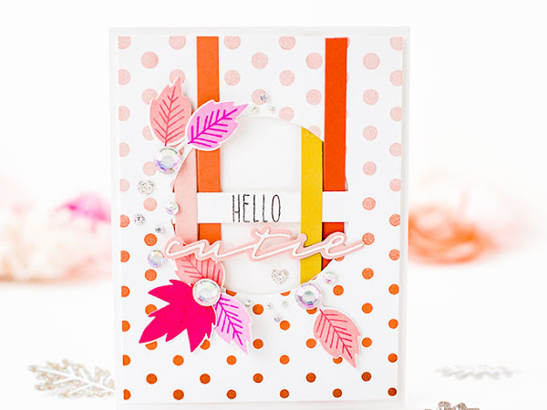Hello Cutie - Easy Weaved Card   The Stamp Market