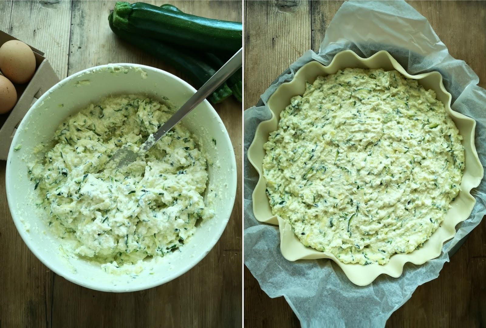 ricette torte salate con zucchine