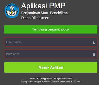Info Terbaru Aplikasi PMP Versi 2017