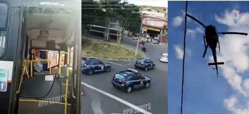 Jovem com problemas psiquiátricos furta ônibus e polícia realiza perseguição em Valinhos - SP
