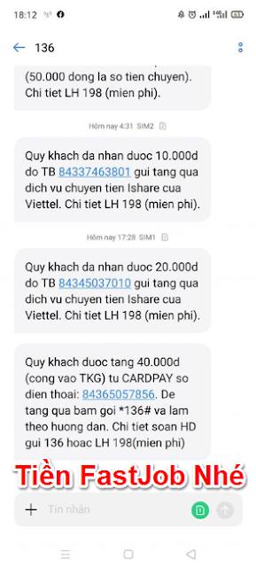 Kiếm tiền với FastJob nhận ngay 30K