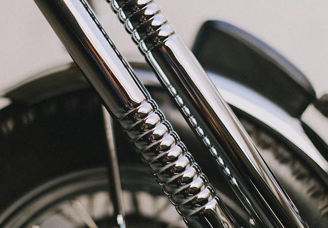 Harley Davidson Panhead 1965 By Wrecked Metals Hell Kustom