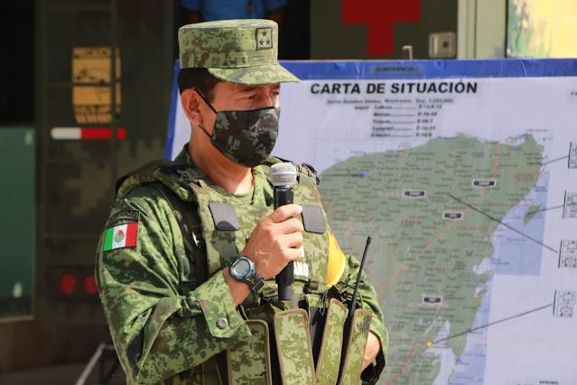 Anuncia el Ejército el Plan DN-III-E para la temporada de ciclones y lluvias 2021
