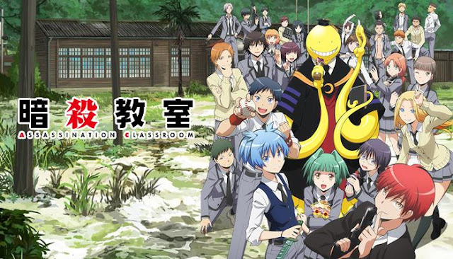 Top Best School Comedy Anime List - Ansatsu Kyoushitsu (Assassination Classroom)