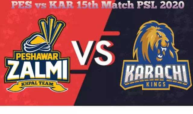 Today Match Prediction-PES Vs KAR 15th Match PSL 2020-Who Will Win Today Match