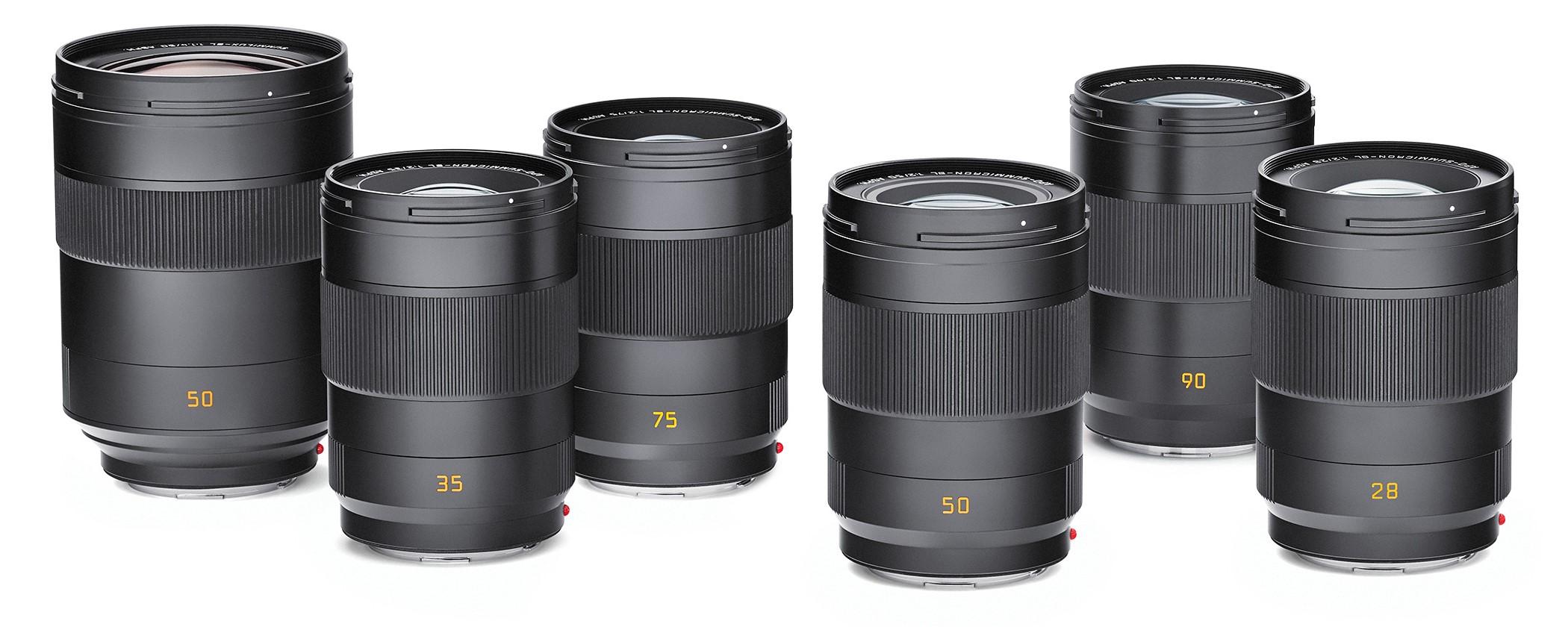 Шесть объективов Leica