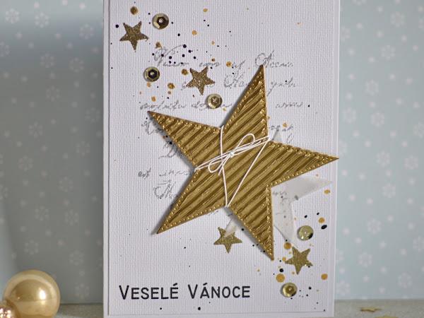 Vánoční přání - inspirace pro Paper Garden