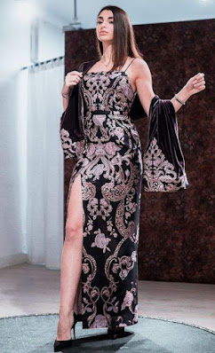 Damask Fabric Styles for Ladies