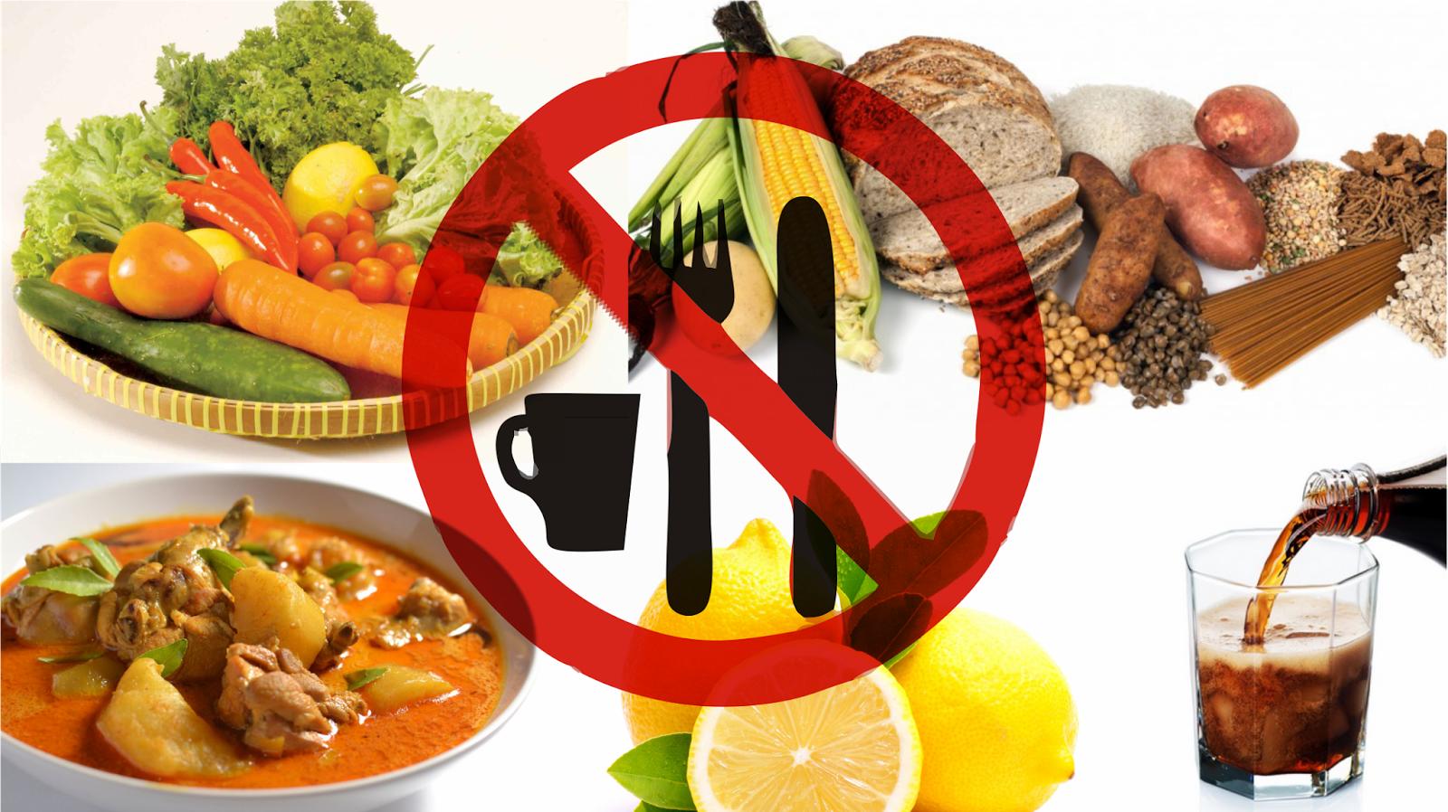Pantangan Makanan bagi Penderita Keloid