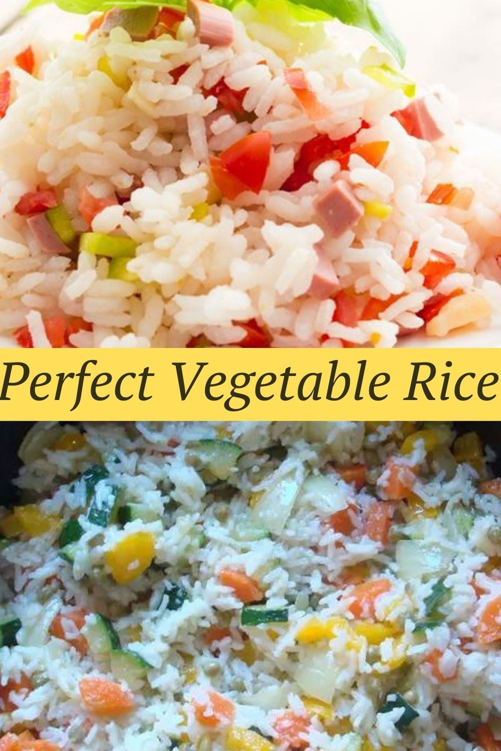 Perfect Vegetable Rice