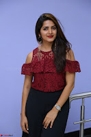 Pavani Gangireddy in Cute Black Skirt Maroon Top at 9 Movie Teaser Launch 5th May 2017  Exclusive 027.JPG