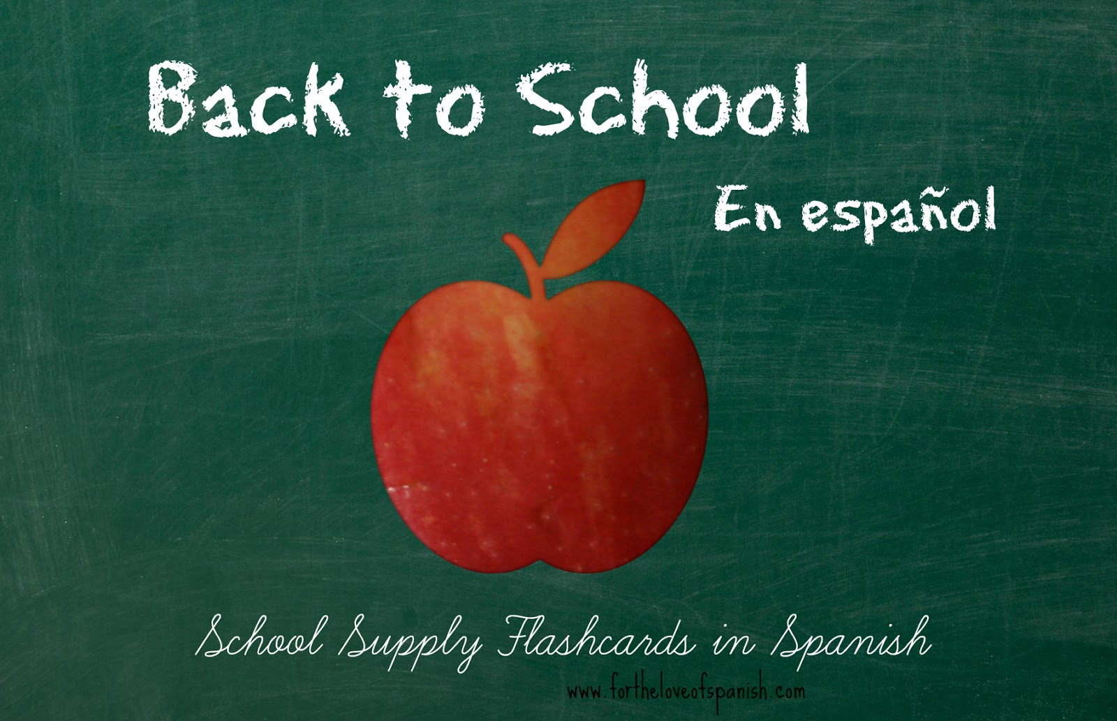 For The Love Of Spanish Back To School En Espanol