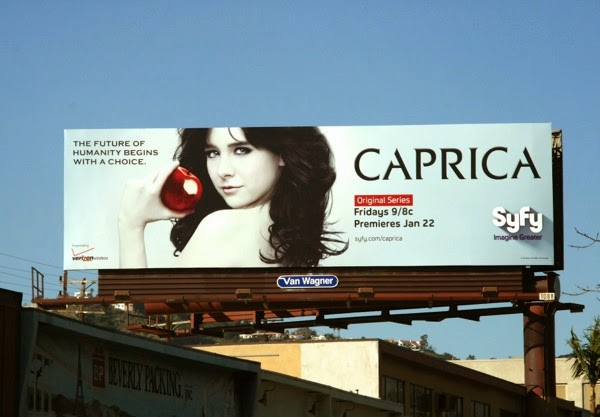 Caprica series premiere billboard