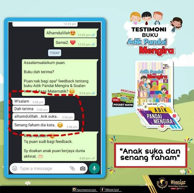 Testimoni Buku Sekolah Viral Buku Cikgu Zawana ( Jom Baca, Jom Tulis, Adik Pandai Mengira, Let's Read, Let's Write)