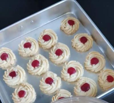 Swiss Tart Cookies Comel Dan Sedap