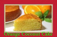 Moroccan Cuisine| Orange Coconut Cake 2