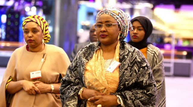 Aisha Buhari: Nobody can steal the materials I donate to the needy because I monitor them from my bedroom