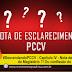 #DesvendandoPCCV - Capítulo IV - Nota de Esclarecimento do Magistério ?! Ou confissão do Erro ?!