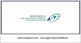 Lowongan Kerja Gudang PT Novell Pharmaceutical Sukabumi 2021