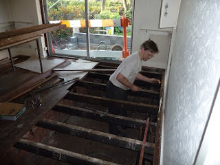 Diary Of An Eco Retrofit Preparing The Ground Floor For
