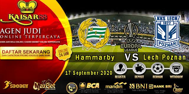Prediksi Bola Terpercaya Liga Europa Hammarby vs Lech Poznan 17 September 2020