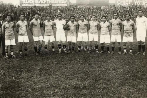 Formación de Chile ante Países Bajos, Juegos Olímpicos Ámsterdam 1928, 8 de junio
