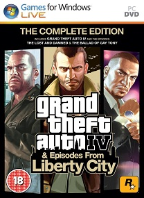 Grand Theft Auto  Complete Edition Pc Cover