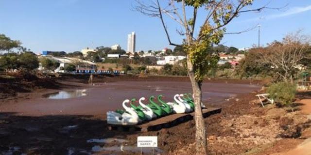 Piranhas levam prefeitura a esvaziar lago em Ivaiporã