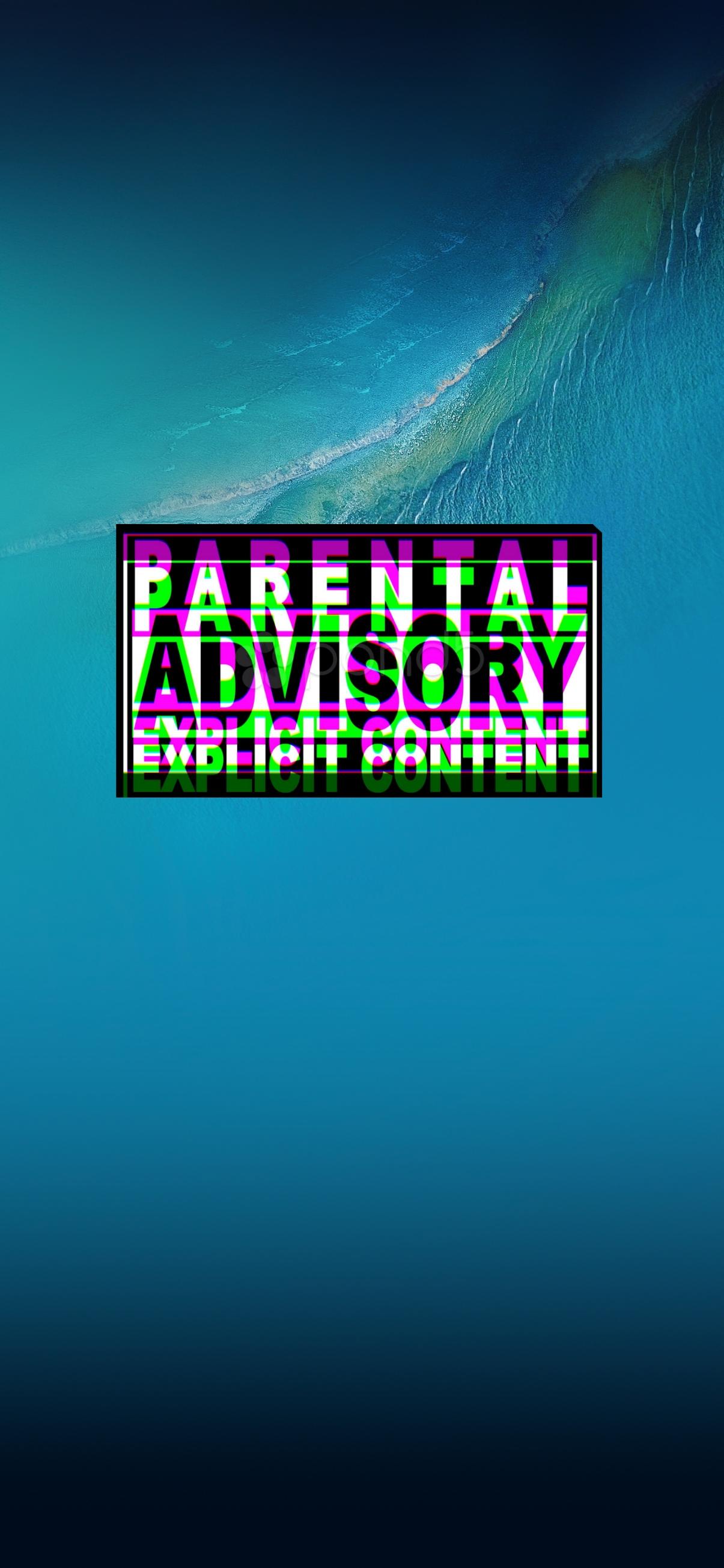 parental advisory wallpaper iphone