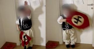 Βουλευτής της Χρυσής Αυγής μαθαίνει στο παιδί του να χαιρετάει ναζιστικά