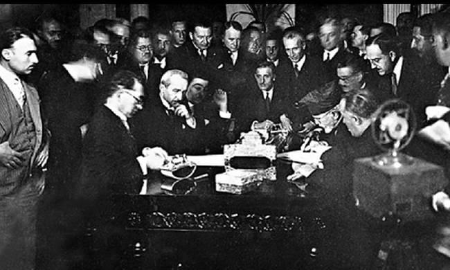 """Θα συναινέσει η ΝΔ στην """"αναθεώρηση"""" της Συνθήκης της Λωζάννης;"""