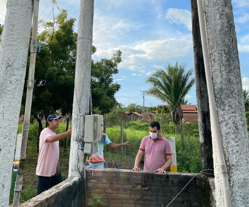 Sistema de abastecimento de água do Centro do Meio dos David passará por reparos.