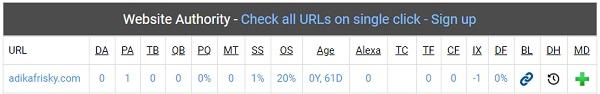 Kualitas Blog yang sudah diterima Google AdSense