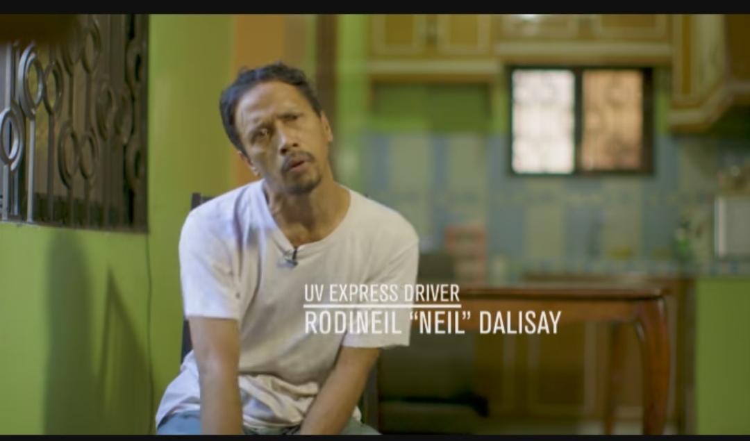Neil Dalisay inspires netizens