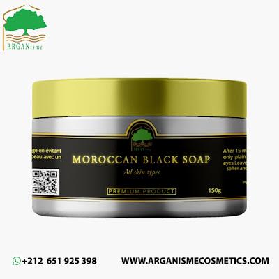Moroccan Black soap Wholesale Supplier - ARGANisme Cosmetics