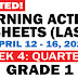 GRADE 1 Updated LEARNING ACTIVITY SHEETS (Q3: Week 4) April 12-16, 2021