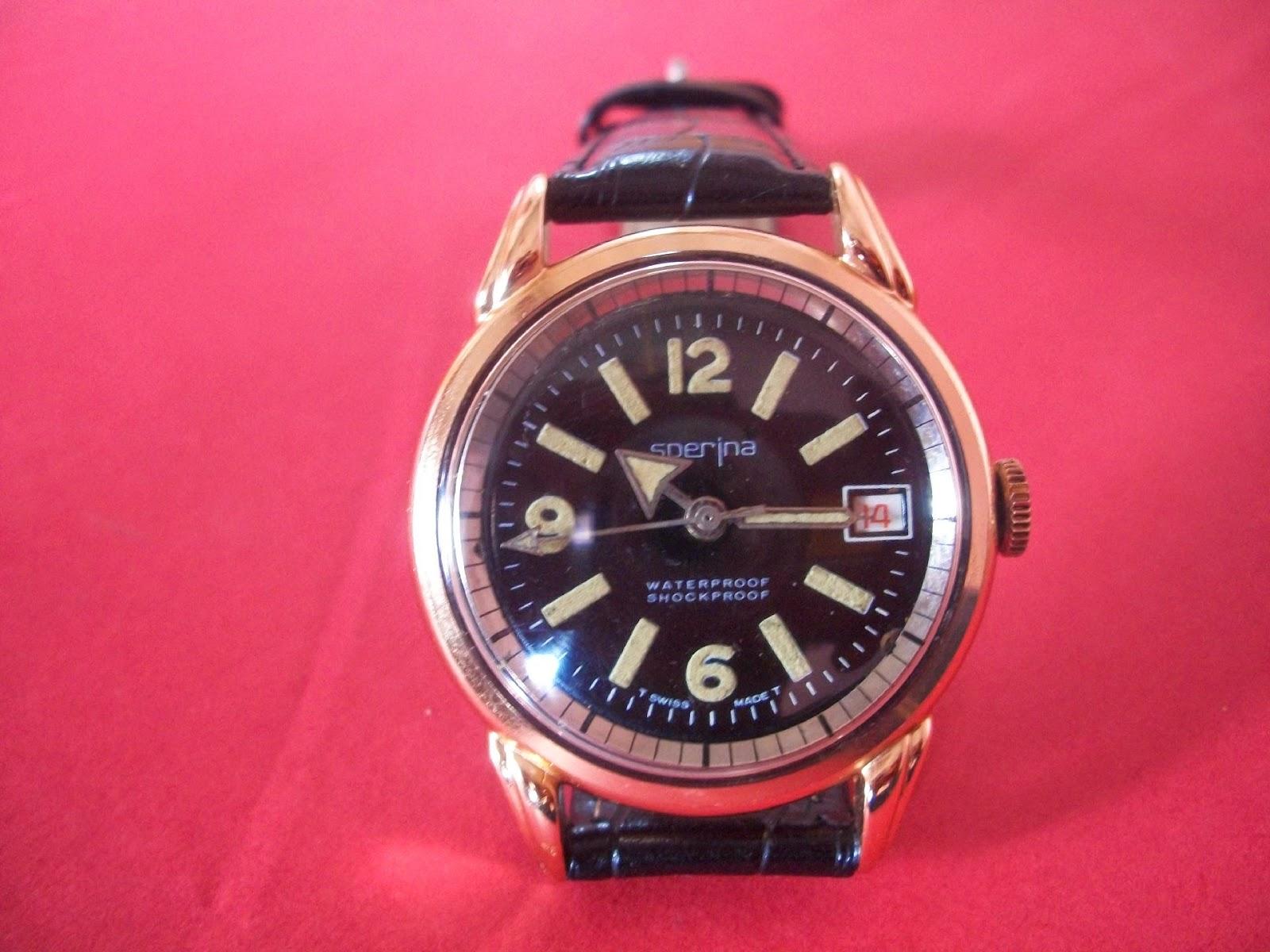 SPERINA WATCH Co. manual winding vintage watch