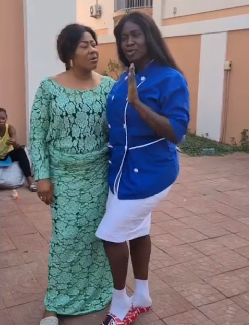 'I No Fit Fine Pass You' - Mercy Johnson Gushes Over Ngozi Ezeonu