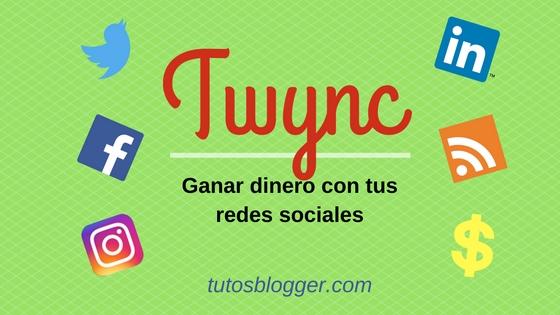 Twync: gana dinero con tus redes sociales