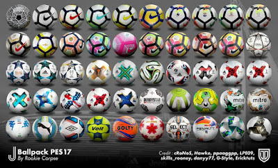 PES 2017 J_Ballpack_PES17 v.1 by Rookie Corpse