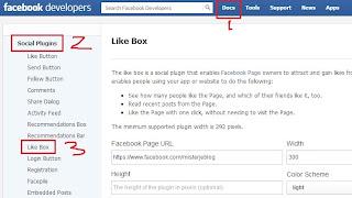 Cara Mudah Membuat Facebook Page Like Box di Blog