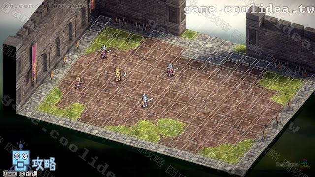 Mercenaries Blaze 傭兵烈焰 黎明雙龍 自由戰鬥 模擬訓練 王國軍訓練場 戰場地圖