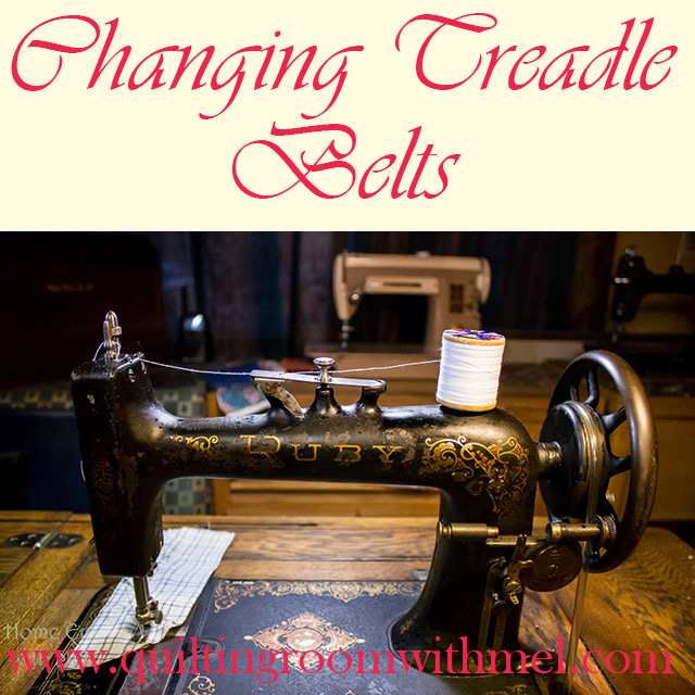 changing treadle belts
