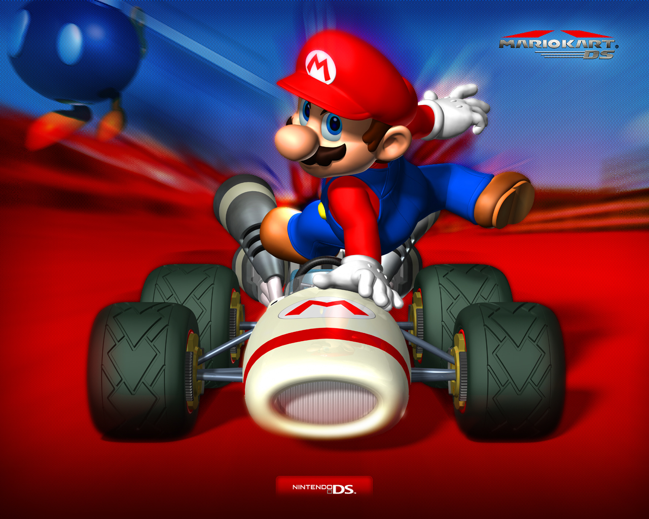 Video Games Mario Kart 7 Racing Round In 3d On Nintendo 3ds